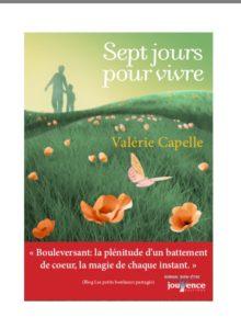 Couv Sept jours pour vivre - éditions Jouvence