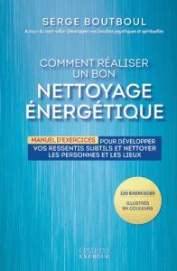 """Couv """"Comment réaliser un bon nettoyage énergétique"""" - Éditions Exergue"""